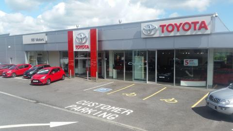 Image of the FRF Toyota centre in Swansea